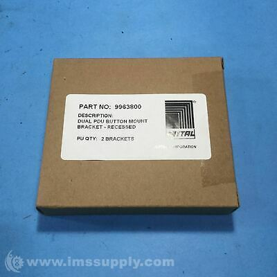 Rittal 9963800 Box of 2 Enclosure, Accessory FNFP