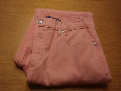 Women's Gloria Vanderbilt Size 8 Medium Pink Stretch Casual Pants Inseam 31 Nice