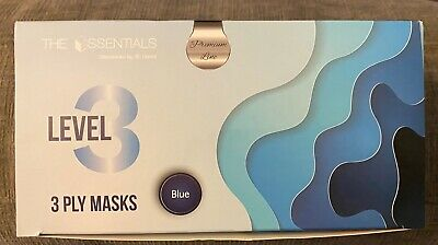 ASTM level 3 4-Ply Surgical Medical Dental Face Mask blue 50/Box, Ship From USA