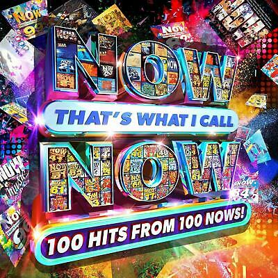 NOW THAT'S WHAT I CALL NOW 100 Hits From 100 Nows! (5CD BOX) NEW SEALED