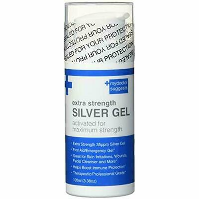 Medications & Treatments Silver Gel Extra Strength - 35ppm Activated For Maximum