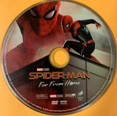 Spider-Man Far From Home (DVD 2019) disc only