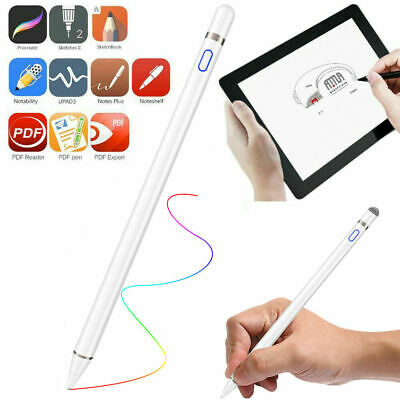 UK Generic-Pencil Pen For Apple iPad Tablets Capacitive Active Touch Stylus Pen