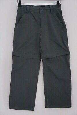 Boys The North Face Trousers Zip Off Outdoor Hiking Camping S 7/8 W42 L32 JJA638