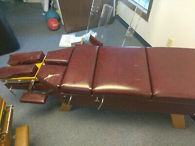 Maroon Thomas' Tables Chiropractic Table - Used