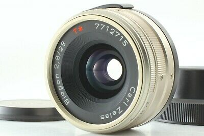 【MINT】 Contax Carl Zeiss Biogon T* 28mm F2.8 G for G1 G2 Lens From JAPAN #1563