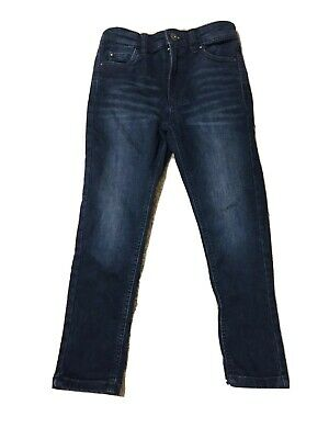 Boys Matalan Dark Blue Skinny Jeans Age 7 Years