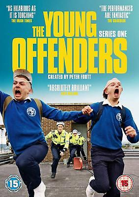 The Young Offenders  Series One  [DVD]  **Brand New**  Irish Comedy Inbetweeners