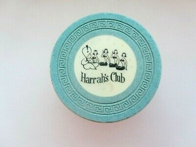 HARRAH'S Club CASINO, RENO/Tahoe, NV - OBSOLETE CASINO CHIP - 1958 issue