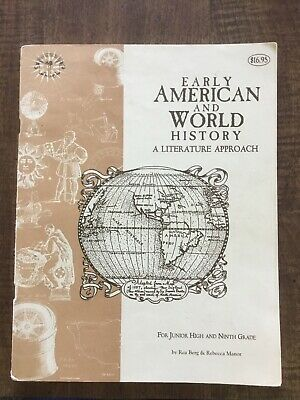 Beautiful Feet Books Early American & World History Guide Jr & HS 2000