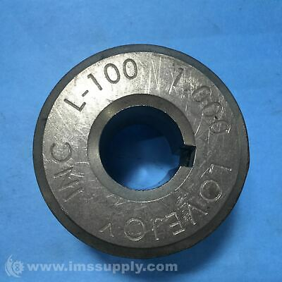 Lovejoy 68514411516 Jaw Coupling Hub, Cplg Size: L100 USIP