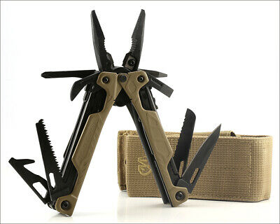 LEATHERMAN OHT One-Hand Opening MultiTool Tan Molle Sheath - Excellent Condition