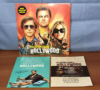 ONCE UPON A TIME IN HOLLYWOOD Soundtrack Score LP Album Press Booklet FYC Promo