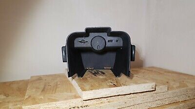 VAUXHALL ZAFIRA B /& ASTRA H POWER OUTLET SOCKET COVER CHARCOAL METALLIC GENUINE