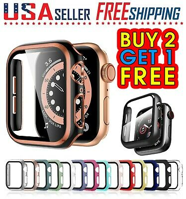 Apple Watch 5 4 3 2 1 Protective Slim Hard PC Case Full Cover iWatch Protector