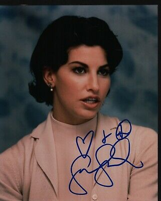 "GINA GERSHON Hand Signed Autographed 8x10"" Photo w/COA - BOUND"