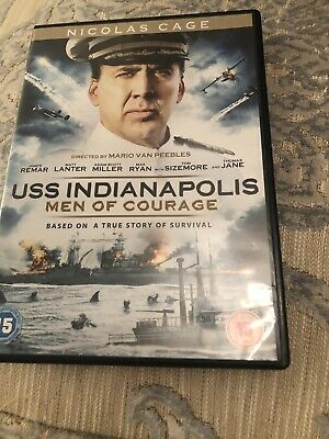 uss indianapolis Men Of Courage Dvd