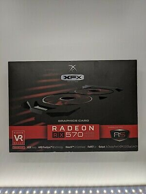 XFX AMD Radeon RX 570 4GB GDDR5 Graphics Card (RX570P4DFDR)