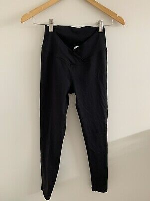 Bae The Label Black Maternity Spandex Leggings Size XS Great Condition