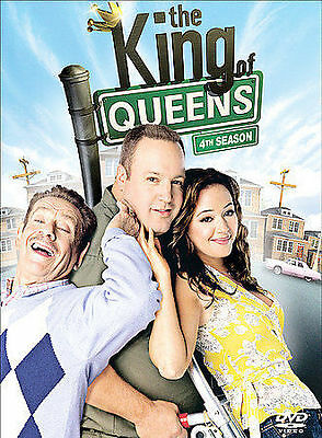 The King of Queens Season 4 (DVD 2005, 3-Disc Set) New Sealed Free Shipping