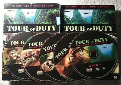 """TOUR OF DUTY : """" the complete first season """" 5 DVD digipack"""