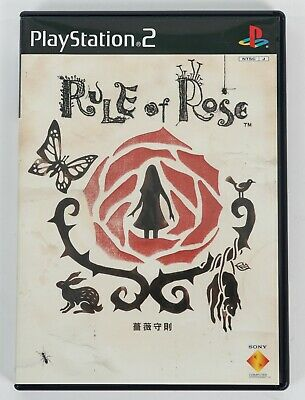 Rule of Rose - Sony PlayStation 2 PS2 NTSC-J Asia Version - Complete