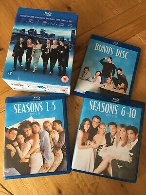 BLU-RAY - FRIENDS THE COMPLETE SERIES BOX SET - UK REGION - Excellent Condition