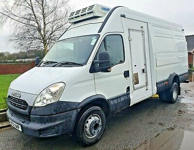 Iveco Daily 70c17 Fridge Van **only 57k Miles from new** Hubbard unit