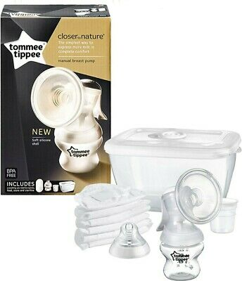 Tommee Tippee Closer to Nature Manual Breast Pump - Brand New