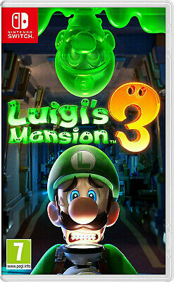 Jeu Nintendo Switch Luigi Mansion 3 - Neuf