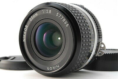【Exc +5】Nikon Ai-s Nikkor 35mm f2.8 MF Lens From Japan #394