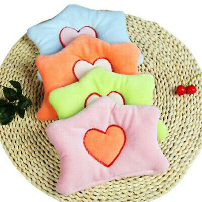 Baby Pillow Newborn Anti Roll Infant Baby Stroller Velvet Mat Cushion Pad T