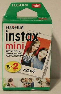 NEW Fujifilm Instax Mini Twin Pack Instant Film 20 Films 2 packs of 10 free ship