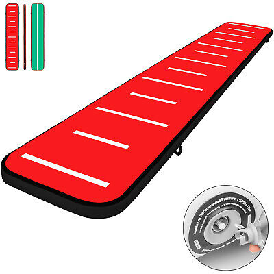 20FT Air Track Inflatable Airtrack Tumbling Gymnastics Mat Home Yoga Training
