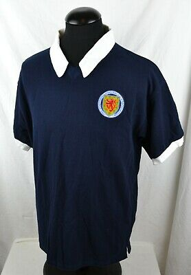 Score Draw Retro Vintage Style XL Scotland Home Football Shirt Argentina 1978 78