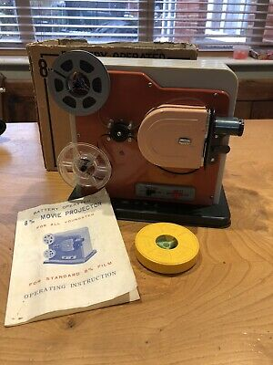 Horipet A - Standard 8mm  Movie Projector - Original Mint Boxed Rare Working
