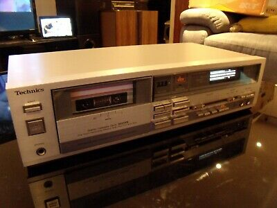 Technics Rs M233X Hifi Stereo Cassette Deck Dolby B/C Nr Dbx Fully Serviced !