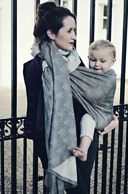Tula Baby Carrier Woven Wrap Sling Grey