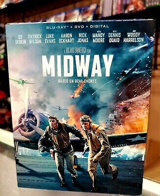Midway BluRay + Dvd + Digital 2019 NEW AUTHENTIC Fast Shipping