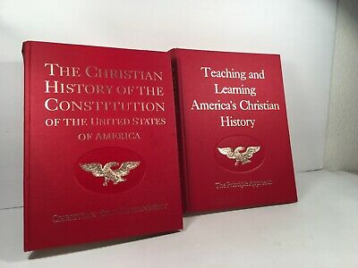 The Christian History of The American Revolution/Constitution by Verna M Hall HC