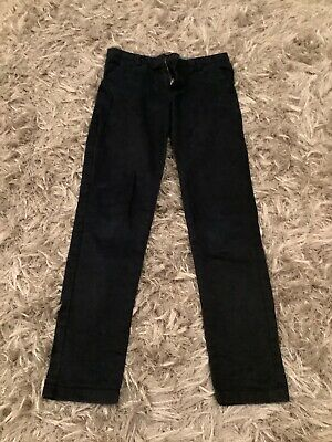 Next Boys Navy blue Chino Trousers Age 9 Years Old - excellent condition