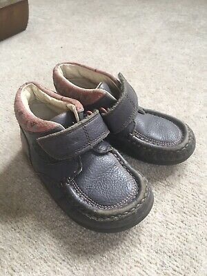 Clarks Leather Winter Toddler Girls 8G Shoe Boots