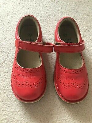 Gorgeous Mini Boden girl's leather shoes  Size 30  Worn once