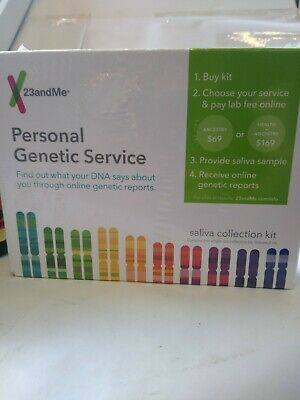 TWO 23andMe DNA Tests - Health and Ancestry Service Saliva LAB FEES 6/2020+