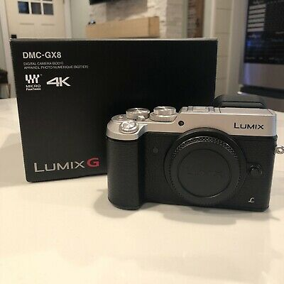 Panasonic Lumix DMC-GX8 20.3MP 4K Mirrorless MFT Digital Camera Body