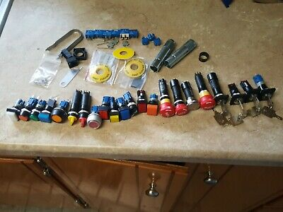 21 lot IEC push button key light switch swiss TH contact ag switches