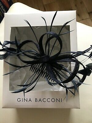 Gina Bacconi Facinator/ Hair Comb New Navy