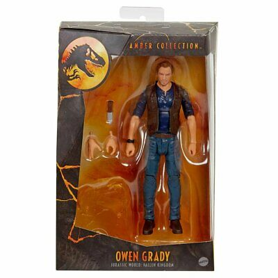 Jurassic World Owen Grady 6-Inch Scale Amber Collection Figure FREE SHIPPING!