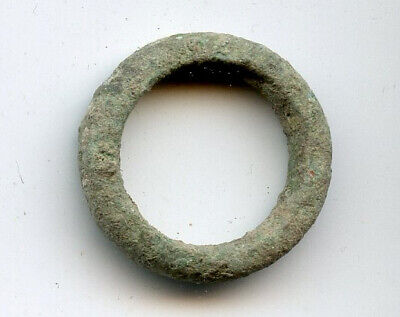 Authentic ancient Celtic ring money (25mm), 800-500 BC, Central Europe (ex-CNG)