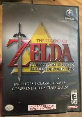The Legend of Zelda: Collector's Edition (Nintendo GameCube, 2003) DAMAGED